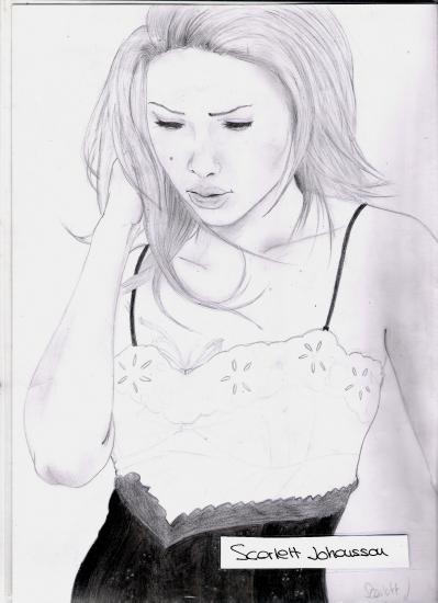 Scarlett Johansson by sevdraws